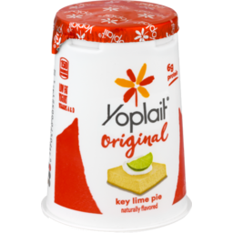 Photo of Yoplait Original Low Fat Yogurt Key Lime Pie