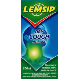Photo of Lemsip Liquid Medicine Dry Cough 200ml