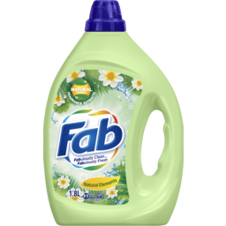 Photo of Fab Natural Elements, Washing Liquid Laundry Detergent, 1.8 Litres