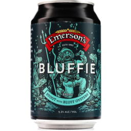 Photo of Emersons Bluffie Stout 330ml