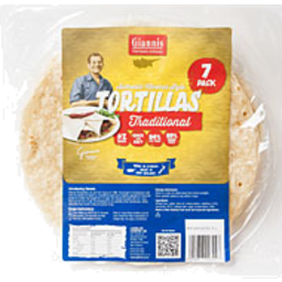Photo of Tortillas Giannis Traditional 7 Pack