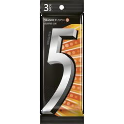 Photo of Wrigley's 5 Gum Orange Fusion Sugarfree Gum 3 Pack