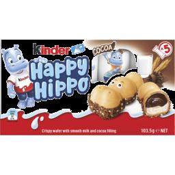 Photo of Kinder Happy Hippo Cocoa 5pk