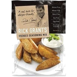 Photo of Rick Grant Wedge Seasoning Mix 80gm