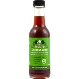 Photo of Niulife - Coconut Syrup - 250ml