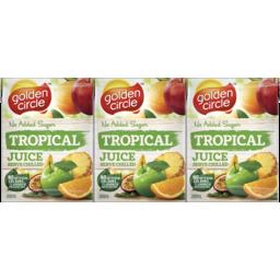 Photo of Golden Circle Juice Tropical 6x200ml