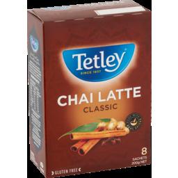 Photo of Tetley Chai Latte Classic 8 Each