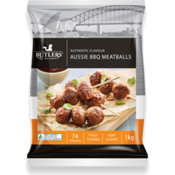 Photo of Butlers Aussie BBQ Meatballs 1kg
