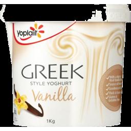 Photo of Yoplait Greek Style Vanilla 1kg