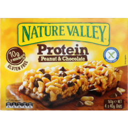 Photo of Nature Valley Protein Nut Bar Peanut And Chocolate 160g