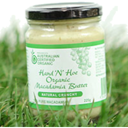 Photo of Hand 'N' Hoe - Macadamia Butter Crunchy - 225g