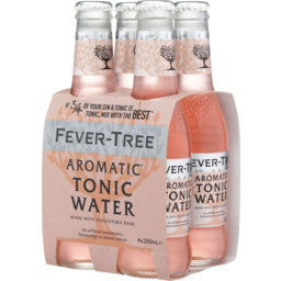 Photo of Fever Tree Aromatic Tonic Bottles