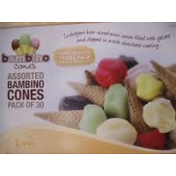 Photo of Bravo Gelato Bambino Cones Assorted