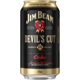 Photo of Jim Beam Devils Cut & Cola Can