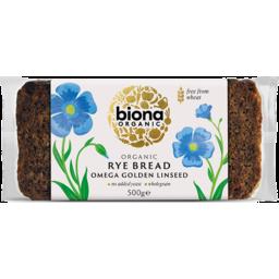 Photo of Biona Bread Rye Omega 3 Linseed 500g
