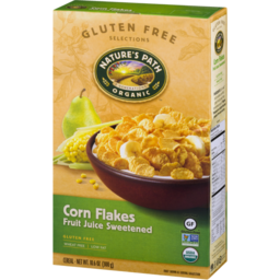 Photo of Nature's Path Organic Corn Flakes Fruit Juice Sweetened Cereal