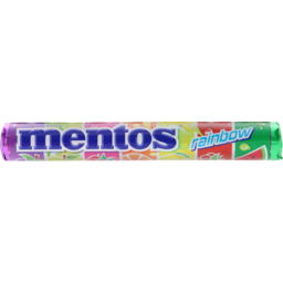 Photo of Mentos Rainbow Roll 37.5g