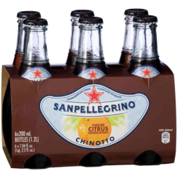Photo of Sanpellegrino Chinotto 6 X 200ml