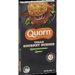 Photo of Quorn Vegan Gourmet Burgers 2 Pack 227g