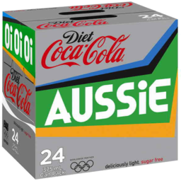 Photo of Diet Coca-Cola 24 X 375ml Can Pack 'Olympics Promo'