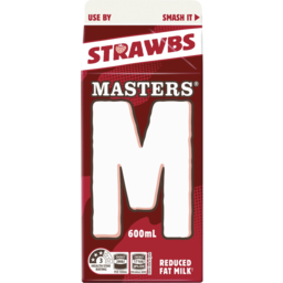 Photo of Masters Strawberry Milk 600ml