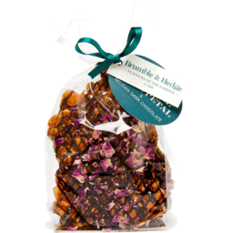 Photo of Bramble & Hedge  Peanut Brittle Salted Caramel/Rose Petal 200g