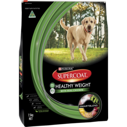 Photo of Supercoat Adult Healthy Weight Dry Dog Food 7.5kg
