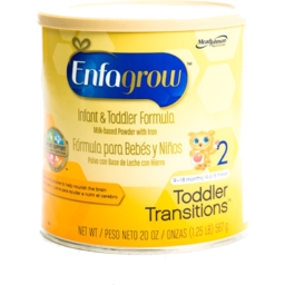 Photo of Enfagrow Toddler Transitions Infant & Toddler Formula