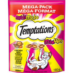 Photo of Whiskas Temptations Mix Chicken Beef Turkey 180g