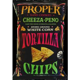 Photo of Proper Handcooked Tortilla Chips Cheeza-Peno 170g