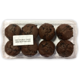 Photo of Mini Double Chocolate Muffins 8 Pack