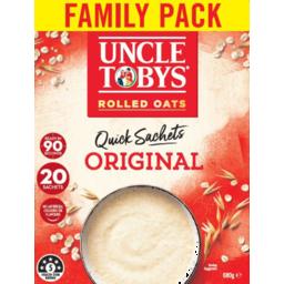 Photo of Uncle Toby's Oat Quick Original 20pk