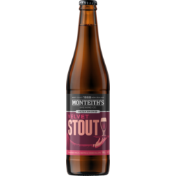 Photo of Monteith's Brewers Series Velvet Stout 500ml