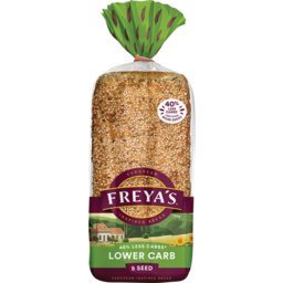 Photo of Freya's Bread Low Carb 5 Seed 750g