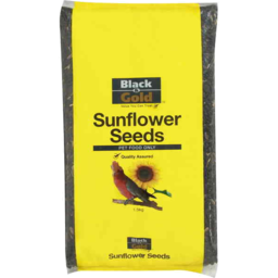 Photo of Black And Gold Sunflower Birdseed1.5kg