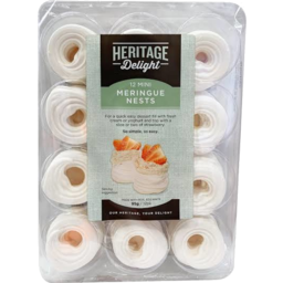 Photo of Heritage Delight Mini Meringue Nests 95gm