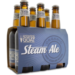 Photo of Mountain Goat Steam Ale 330ml 6 Pack