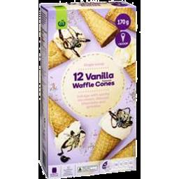 Photo of WW Waffle Cone Vanilla 12 Pack