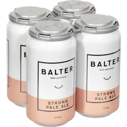 Photo of Balter Strong Pale Ale Cans