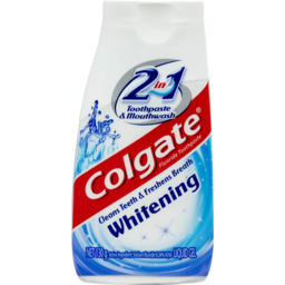 Photo of Colgate 2 In 1 Whitening Toothpaste & Mouthwash 130g