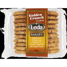 Photo of Leda Cookie Gluten Free Golden Crunch 250g