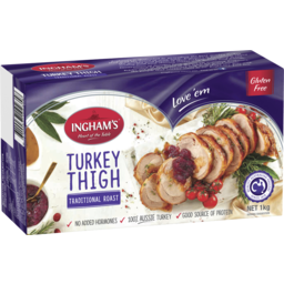 Photo of Ingham's Fresh Turkey Thigh Roast With Cranberry And Apple Stuffing 1kg