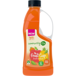 Photo of Community Co Fruit Cup Cordial 1l