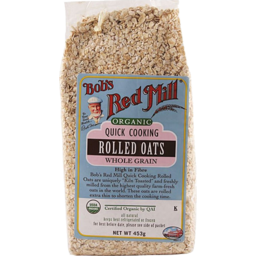 Photo of Bob's Red Mill - Quick Cook Rolled Oats Wheat Free - 453g