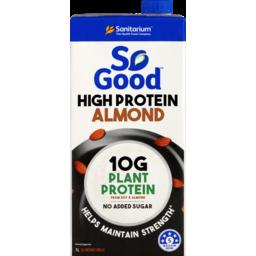 Photo of Sanitarium So Good Dairy Substitute Almond High Protein Uht 1l