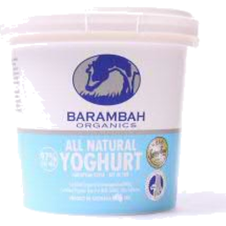 Photo of Barambah All Natural Organic Yoghurt 1kg