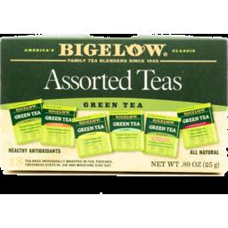 Photo of Bigelow Assorted Green Teas - 18 Ct