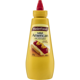 Photo of Masterfoods Mild American Mustard Squeezy Bottle 550g