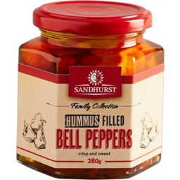 Photo of Sandhurst Hummus Filled Bell Peppers 280g