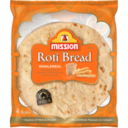 Photo of Mission Wholemeal Roti 240g